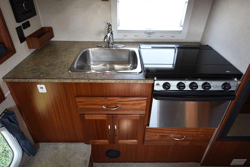 Northern Lite 8-11 EX kitchen counter space