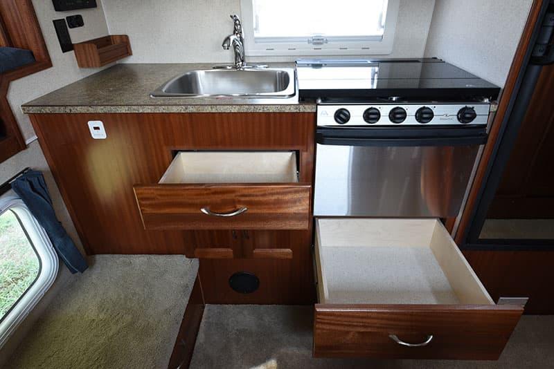 Northern Lite 8-11 EX kitchen lower drawers