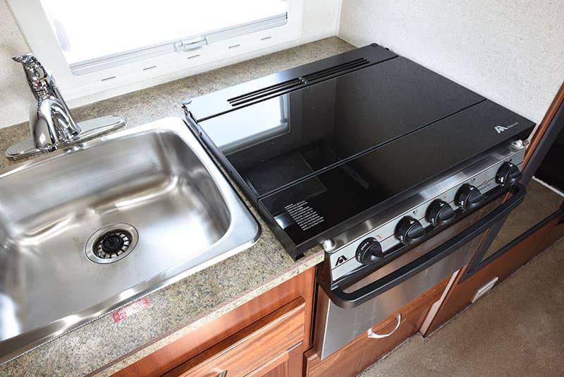 Northern Lite 8-11 EX kitchen range top down