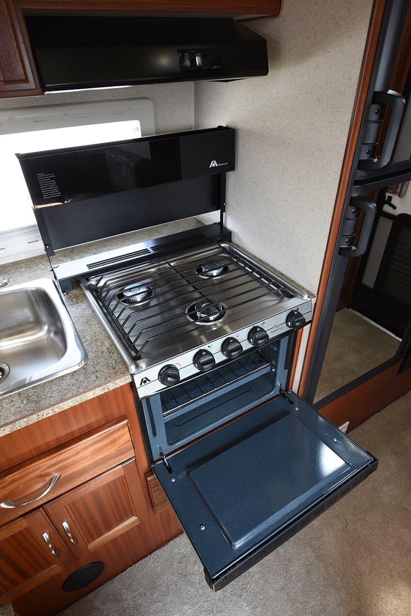 Northern Lite 8-11 EX kitchen range top open