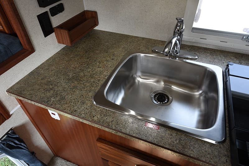 Northern Lite 8-11 EX kitchen sink area
