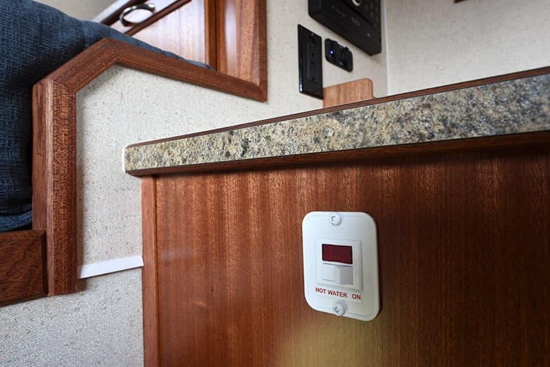 Northern Lite 8-11 EX kitchen water heater switch