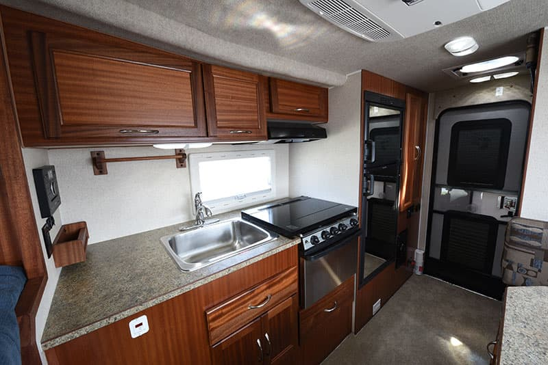 Northern Lite Camper Sapele cabinetry