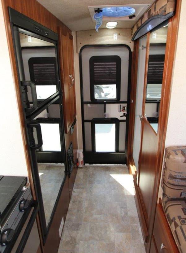 Northern Lite 8-11 EX bathroom and storage