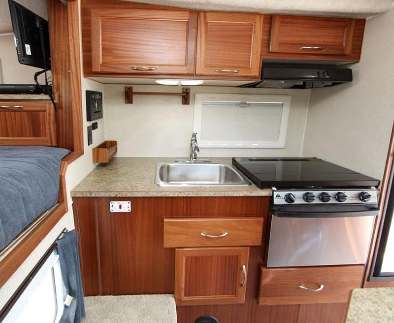 Northern Lite 8-11 EX has more kitchen counter space