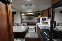 Northern Lite 8-11 CDSE camper interior