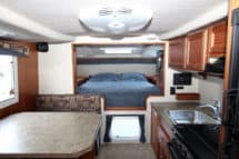 Northern Lite 9-6 CDSE camper interior