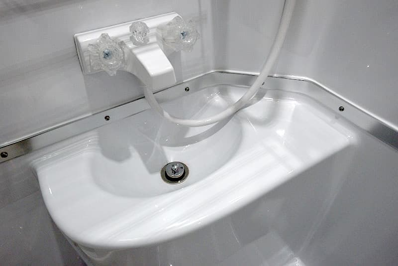 Northern Lite Dry Bath Sink Area