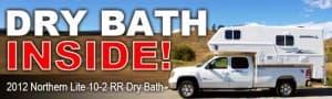 Northern Lite dry bath truck camper