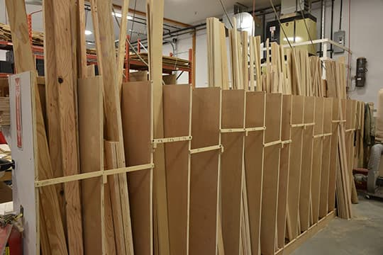 Factory Cut Wood Ready For Assembly