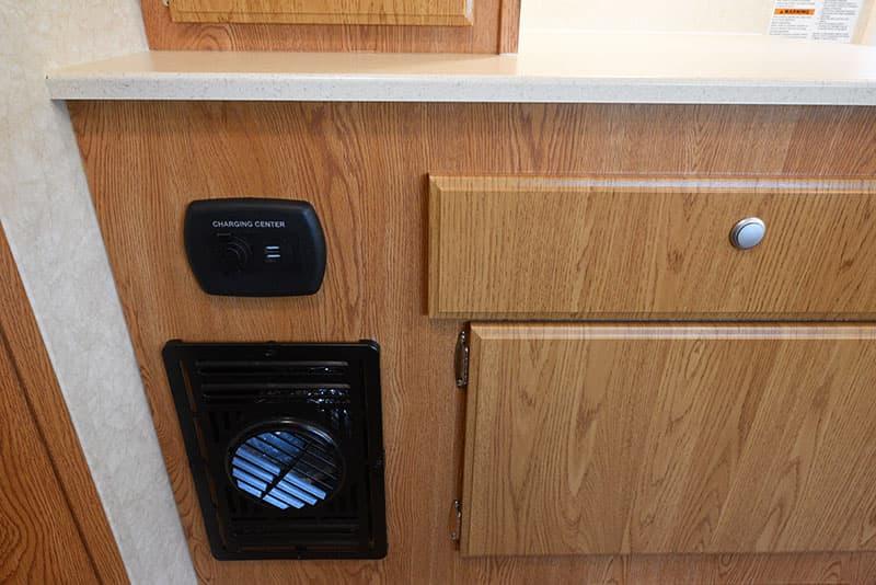 Northstar 12STC camper kitchen charging station for electronics