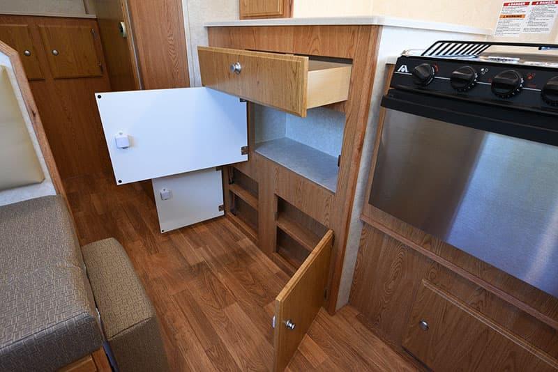 Northstar 12STC Kitchen Lower Storage