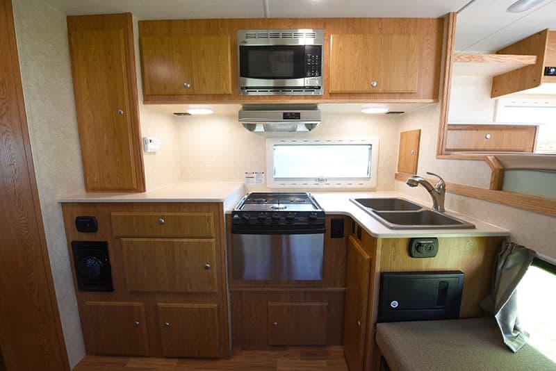 Northstar 12STC Camper Kitchen