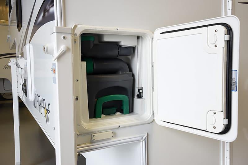 Northstar 650SC camper cassette toilet