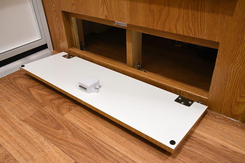 Northstar 650SC bathroom under cabinetry storage