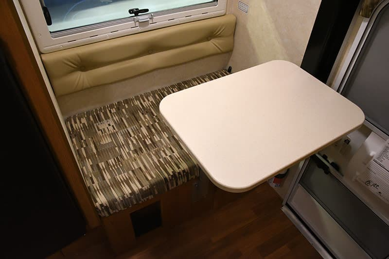 Northstar 650SC dinette table ready
