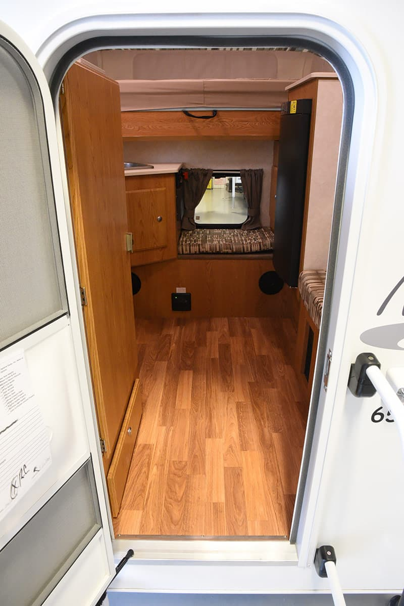 Northstar 650 SC entry door into unit