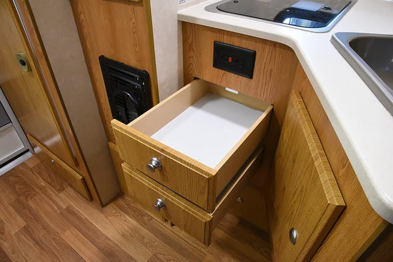 Northstar 650SC kitchen drawers