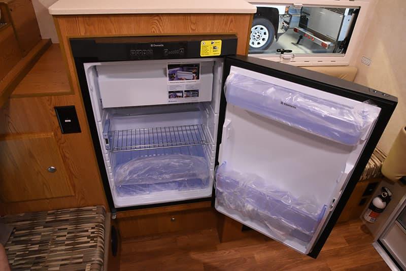 Northstar 650SC refrigerator open