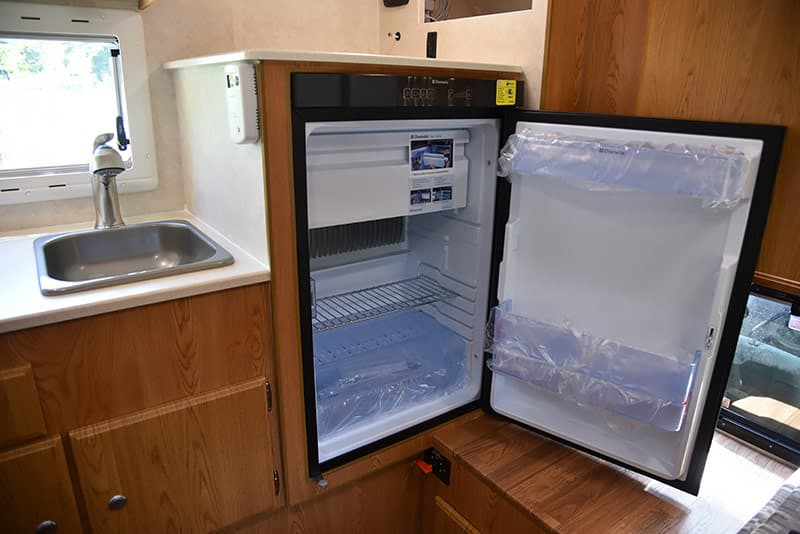 Northstar Vista has a Dometic Refrigerator