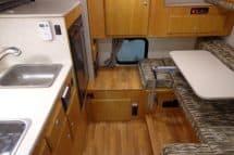 Northstar Vista truck camper interior