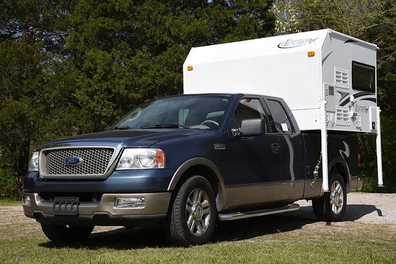 2016 Northstar Vista Review Cabover Less Truck Camper