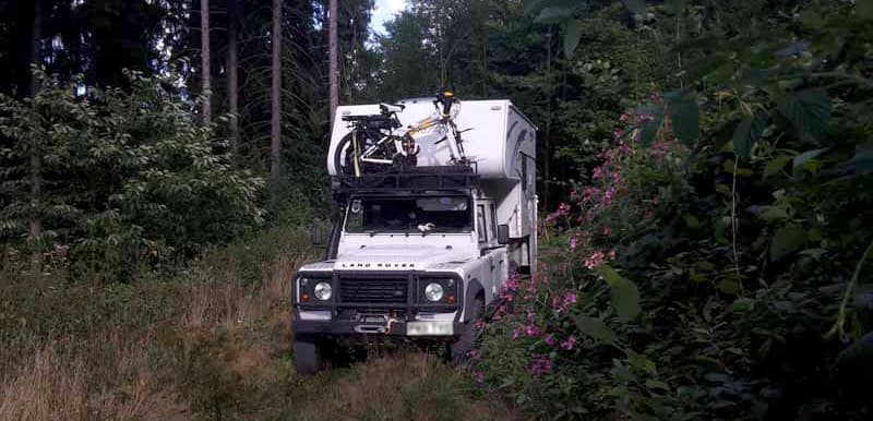 Northstar And Landrover Off Roading In Germany