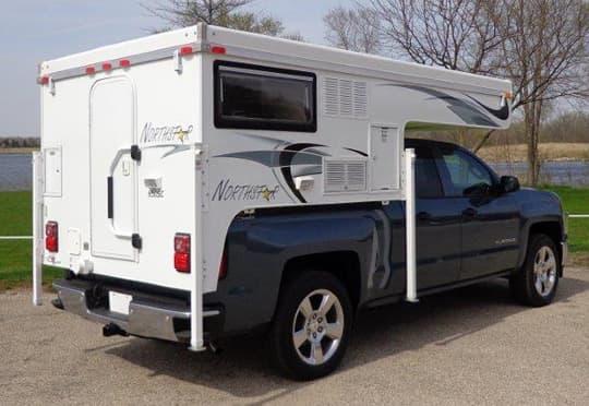 Northstar 650SC Short-Bed Pop-Up Truck Camper