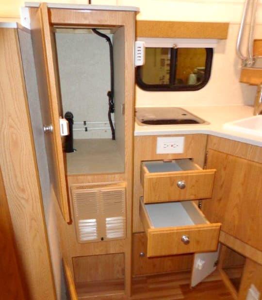 Used Kitchen Cabinets For Sale >> Northstar 650SC Short-Bed Pop-Up Truck Camper