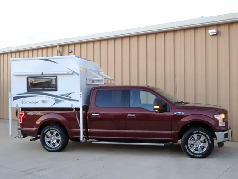 Northstar Vista Short Bed Cabover Less Truck Camper