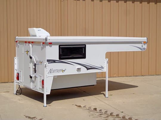 Northstar Announces Sub Zero Package For Pop Up Truck Campers