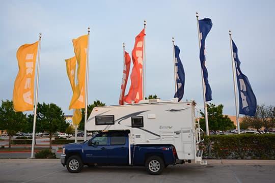 Truck camping san antonio missions for Ikea san antonio