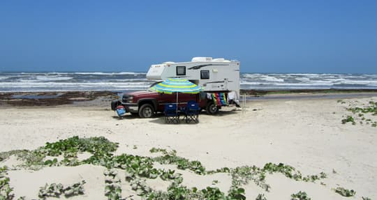 family-camps-North-Padre-Island-Tx