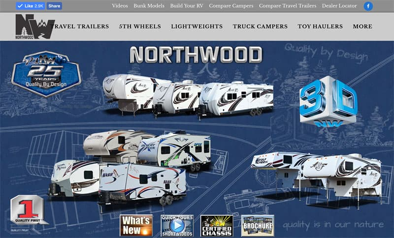 Northwood 3D icon homepage website