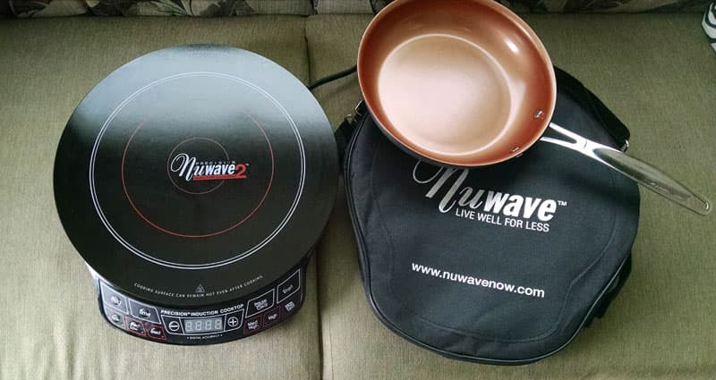 Induction cooktop by NuWave