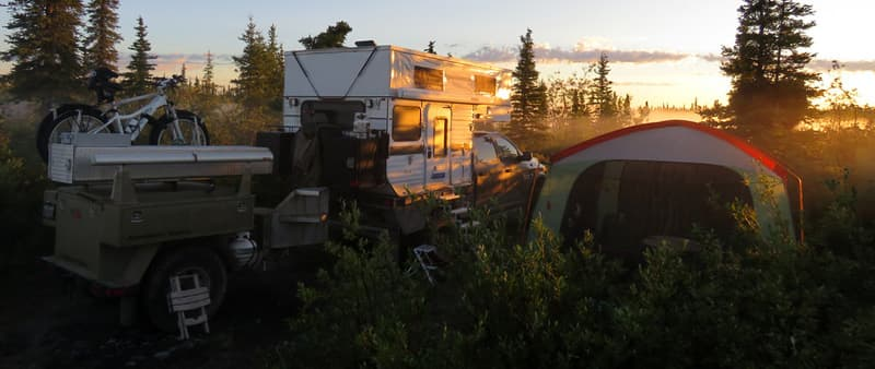 Off Grid Four Wheel Camper