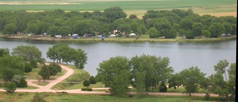 Ogallala Lake, Nebraska, Truck Camper Show