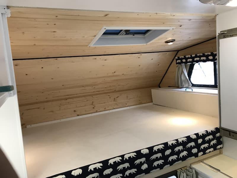 Okanagan Camper New Bed Area 2