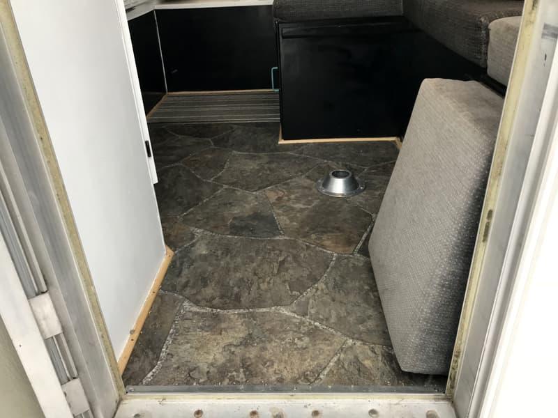 Okanagan Camper New Floor
