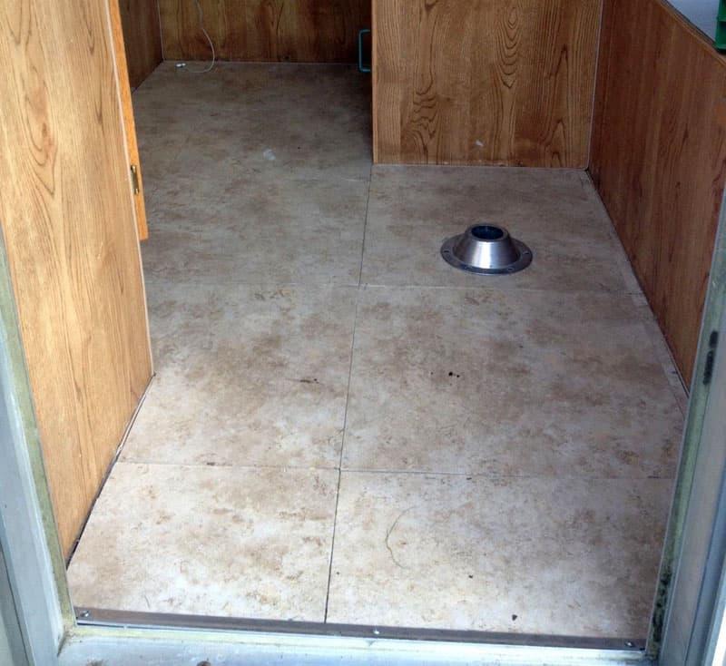 Okanagan Camper Old Floor