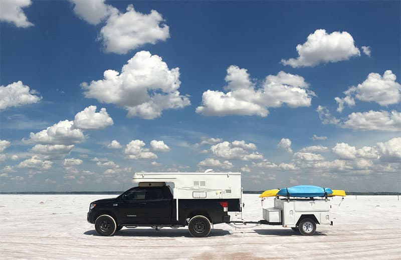 Great Salt Plains, Cherokee, Oklahoma, Phoenix Camper