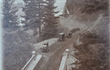 Old Highway 30 in Oregon 1931