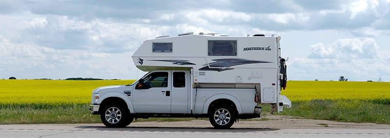 Minnedosa, Manitoba pull-off