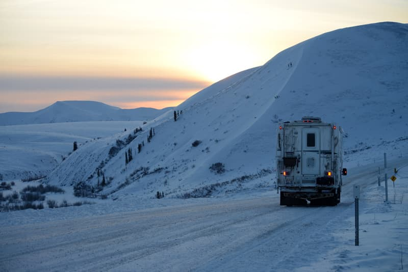 On the way back on Dempster Highway