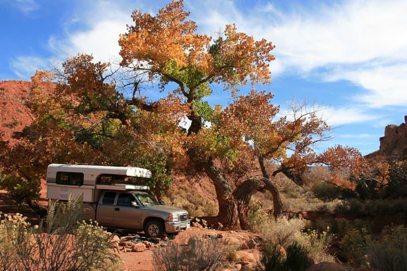 Onion-Creek-Road-Campsite-Utah