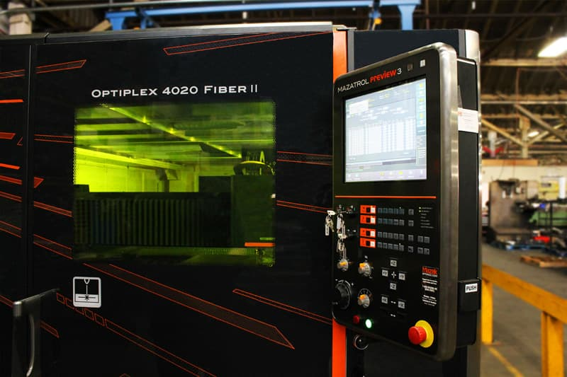 Optiplex 4020 Fiber II laser cutter