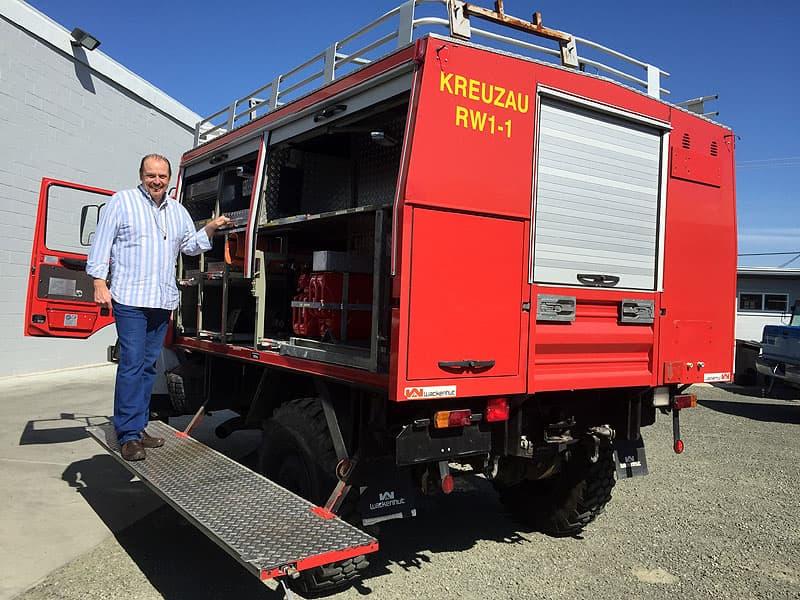 Original Unimog truck, the u1300l