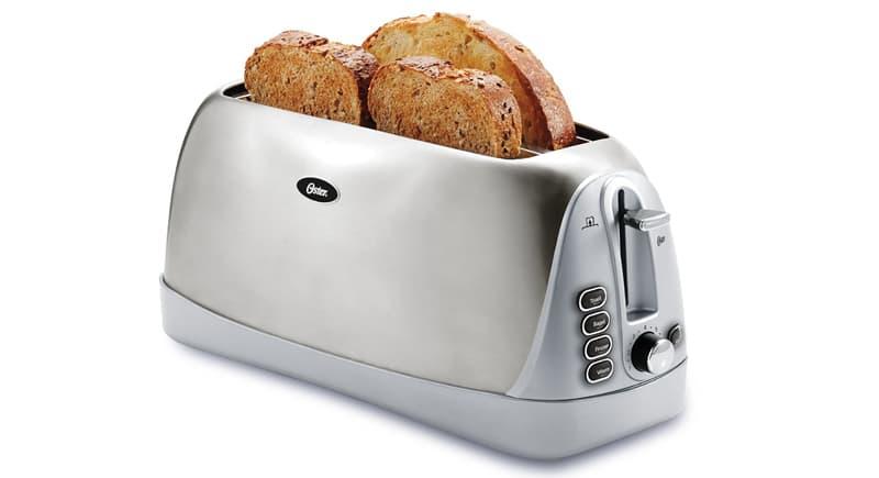 Oster 4-slice long slot toaster
