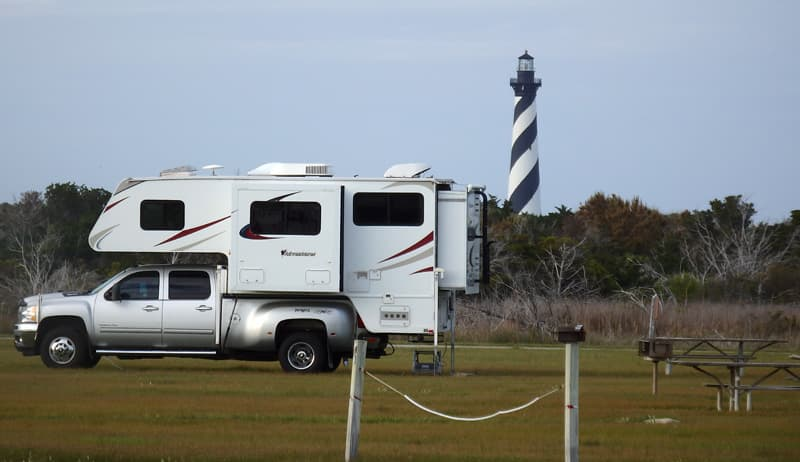 Outer Banks Camping Cape Hatteras Light
