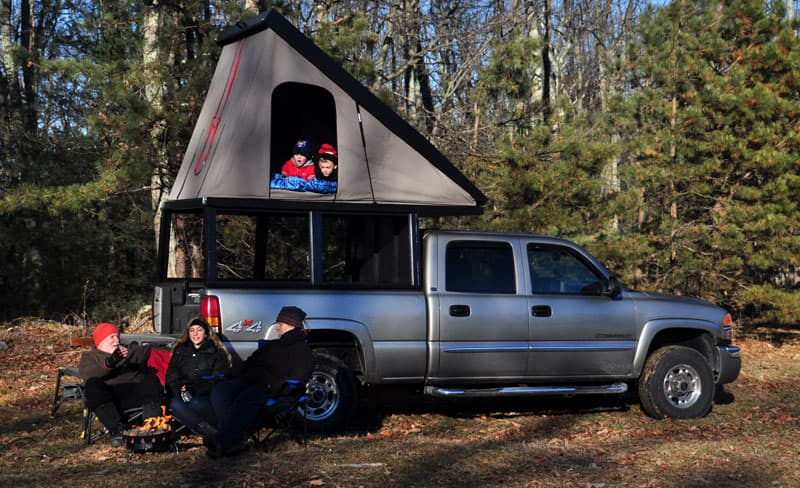 Outfitters SNAP Pop Up Truck Camper